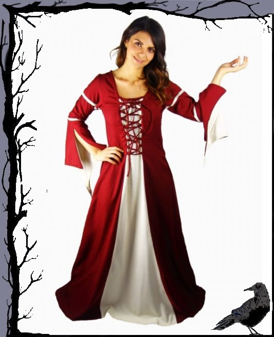 Célébrez le Nouvel An Noël Moyen âge nourrices robe-Ivy robe-Ivy robe-Ivy Leonardo carbone 5d077f
