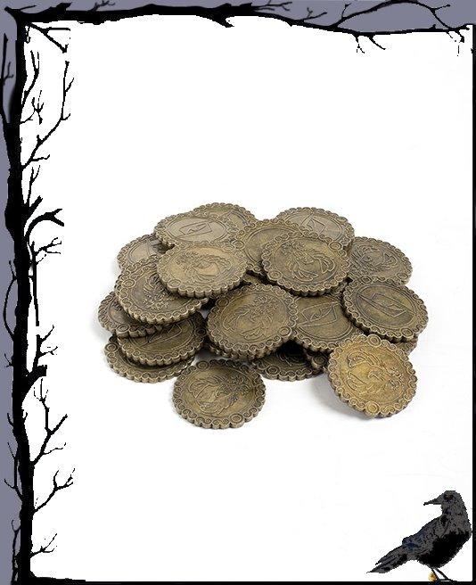 Allerhand Utensilien - Larp In-Time Münzen 30 Stück  Epic Armoury