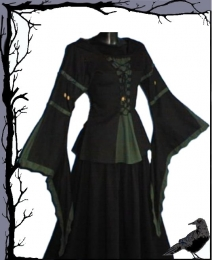 Mittelalter Edle Bluse - Nocturna @