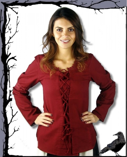 official photos ee5a5 45ee6 Mittelalter Edle Bluse - Abby - Home » Mittelalter Kleidung &raq