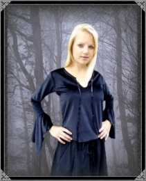 Tageskleidung - Gothic Bluse Severina @