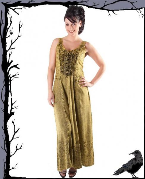 Tageskleidung - Langes Gothic Kleid Denise Gothic Vampiere Wave WGT Un f5a83c1580