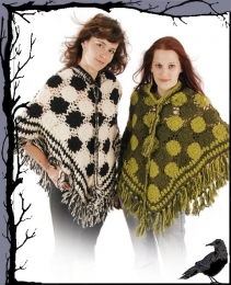 Tageskleidung - Gothic Poncho Anguish