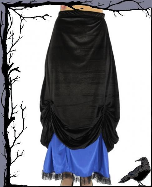 new styles 33120 e88d0 Tageskleidung - Langer schwarz blauer Gothic Rock Gothic ...